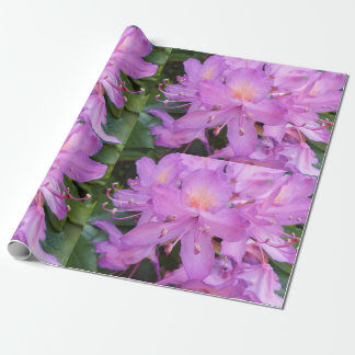 Rhododendron Flower Wrapping Paper