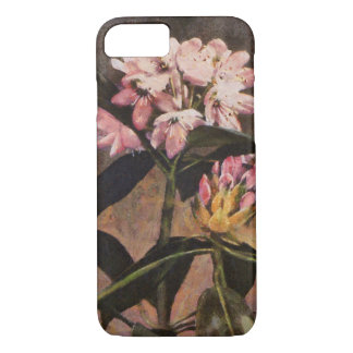 Rhododendron Pink Painted Floral Blooms iPhone 8/7 Case