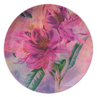 RHODODENDRON PLATE