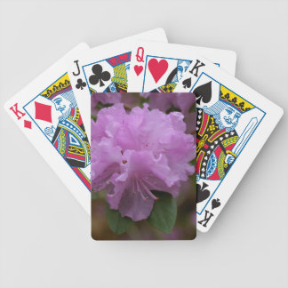 Rhododendron playing cards