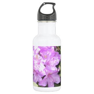 Rhododendron - Purple Flowers in Spring 532 Ml Water Bottle