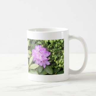 Rhododendron - Purple Flowers in Spring Mug