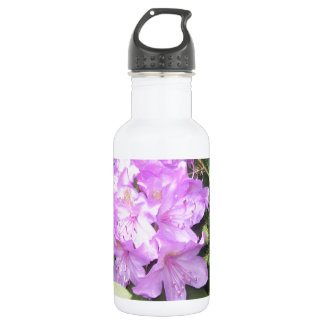 Rhododendron - Purple Flowers in Spring 532 Ml Water Bottle