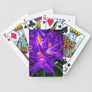 Rhododendron Topaz Poker Deck