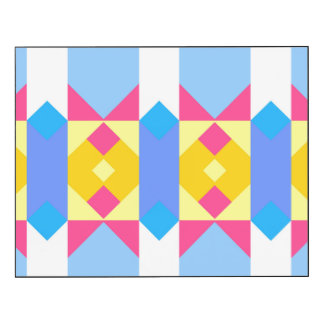 Rhombus and other shapes abstract design