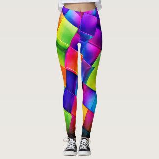 Rhombus Colorful leggings