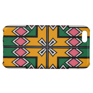 Rhombus squares and a cross case for iPhone 5C