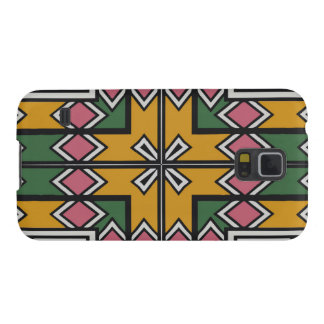 Rhombus squares and a cross galaxy s5 case