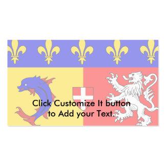Rhone-Alpes, France Business Card Templates