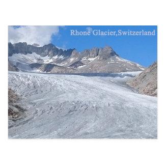 Rhone Glacier,Switzerland Postcard