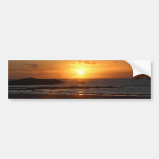 Rhosneigr Sunset. Bumper Sticker