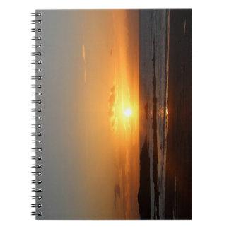 Rhosneigr Sunset. Notebook