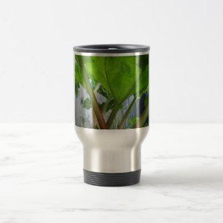 Rhubarb coffeemug travel mug