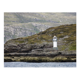 Rhue Lighthouse Along The Coast Postcard