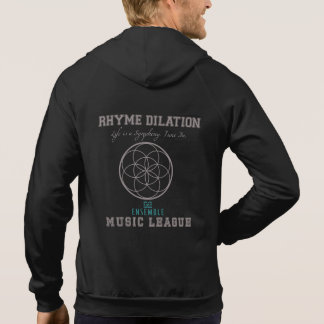 Rhyme Dilation Ensemble Flower of Life Music Hoodie