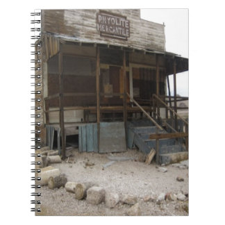 Rhyolite Mercantile Building Notebook