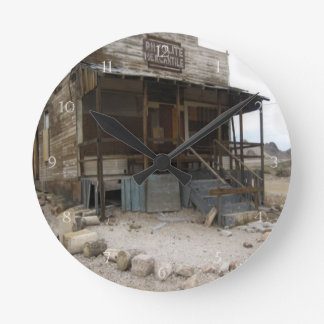 Rhyolite Mercantile Building Round Clock