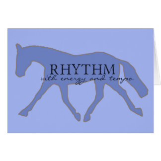 RHYTHM 5x7 GREETING CARD