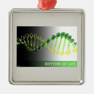 Rhythm of Life Metal Ornament