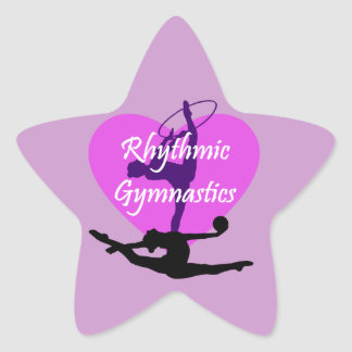 Rhythmic Gymnastics Star Sticker