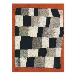 Rhythmic (Rythmical) by Paul Klee Postcard