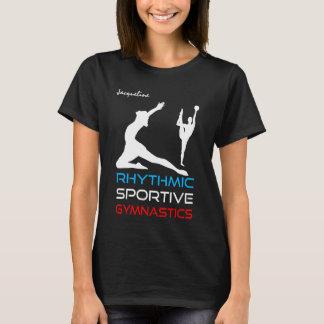 Rhythmic Sportive Gymnastics elegant T-Shirt