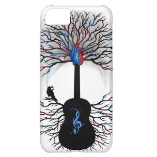 Rhythms of the Heart - ( surreal guitar art ) iPhone 5C Case