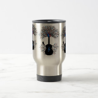 Rhythms of the Heart - ( surreal guitar art ) Coffee Mug