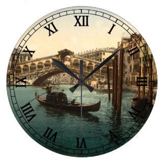 Rialto Bridge I, Venice, Italy Wallclock