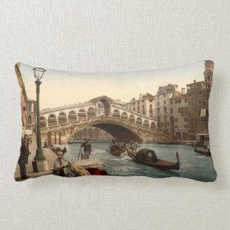 Rialto Bridge II, Venice, Italy Lumbar Cushion