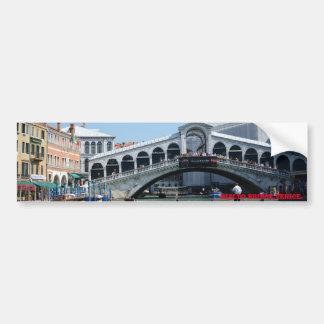 Rialto Bridge, Venice. Bumper Sticker