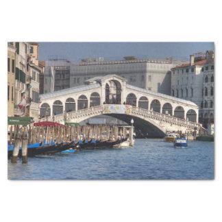 Rialto Bridge Venice Italy Tissue Paper