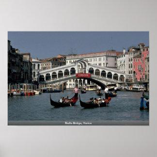 Rialto Bridge, Venice Posters