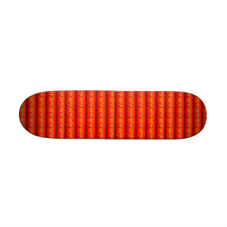 Ribbed Hearts on Fire Custom Skate Board