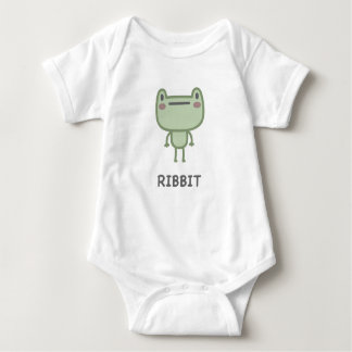 Ribbit Baby Bodysuit