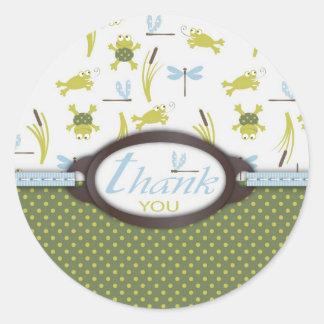 Ribbit Birthday TY Sticker B