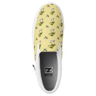 Ribbit Chasing Dragonfly Slip-On Shoes