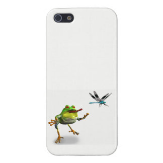 Ribbit Goes to lunch iPhone 5 Cases