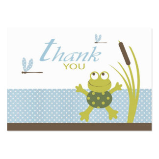 Ribbit TY Favor Tag B2 Business Card