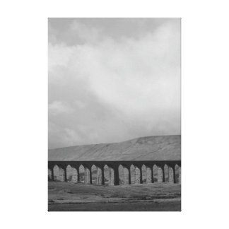 Ribblehead viaduct in Yorkshire Canvas Print