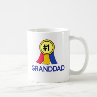 Ribbon #1 Granddad Basic White Mug