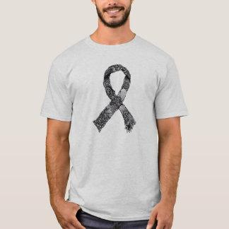 Ribbon - Black & White T-Shirt