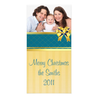 Ribbon Photo Card Template