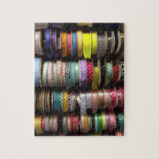 Ribbon Rows NYC Fabric Store Sewing Craft Puzzle
