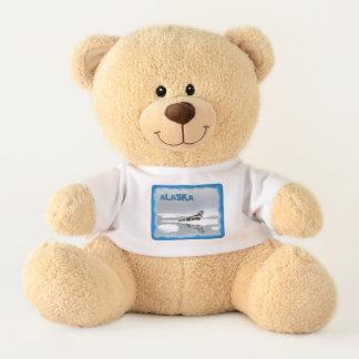 Ribbon Seal On Ice Teddy Bear