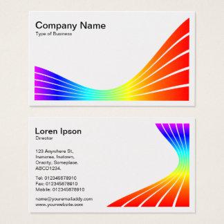 Ribbon Wave - Spectrum Business Card