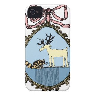 Ribboned Portrait iPhone case