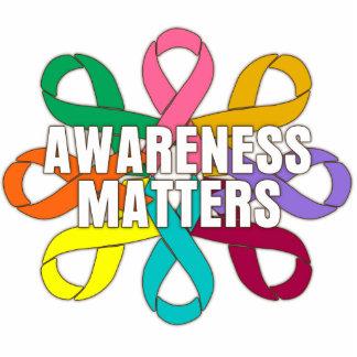 RibbonFlowerAwareness Photo Cut Out