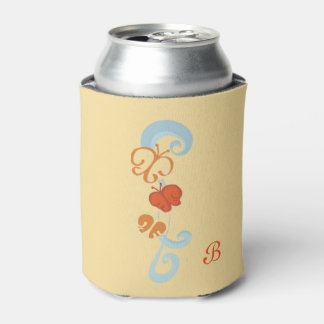 Ribbons and Butterfiles Can Cooler