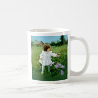 Ribbons and Roses Classic White Coffee Mug